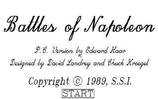 Battles of Napoleon