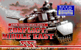 Conflict: Middle East