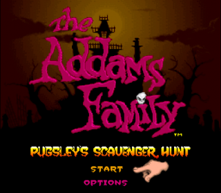 Super Nintendo - Addams Family: Pugsley&#39s Scavenger Hunt