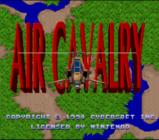 Super Nintendo - Air Cavalry