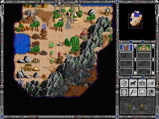 Heroes of Might and Magic II - начало игры