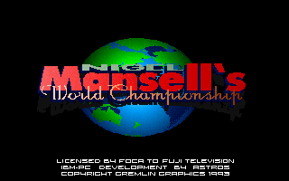 Nigel Mansell&#39s World Championship