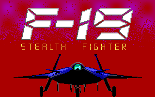 F19 Stealth Fighter