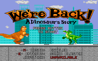 We&#39re Back! A Dinosaur&#39s Story