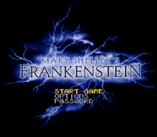 Super Nintendo - Mary Shelley&#39s Frankenstein