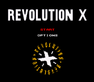 Super Nintendo - Revolution X