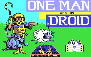 Commodore 64 - 1 Man and his droid Mastertronic