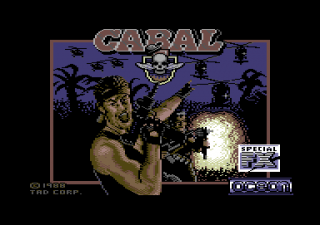 Commodore 64 - Cabal