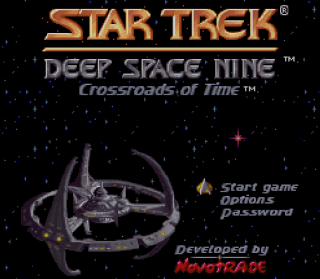 Super Nintendo - Star Trek - Deep Space Nine - Crossroads of Time