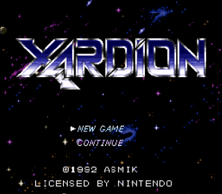Super Nintendo - Xardion