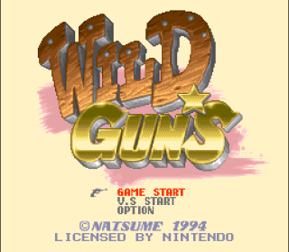 Super Nintendo - Wild Guns