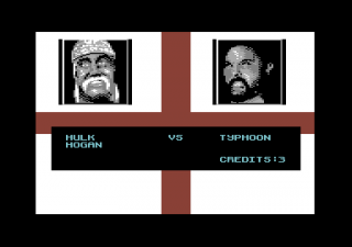 Commodore 64 - WWF European Rampage Tour