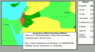 Conflict: Middle-East Political Simulator