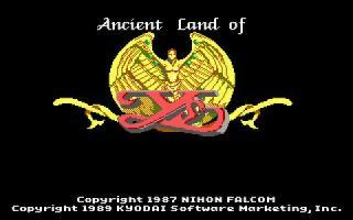 Ancient Land of Ys