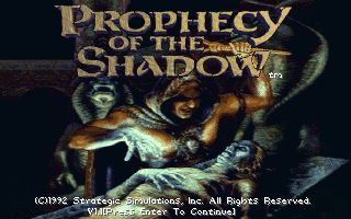 Prophecy of the Shadow
