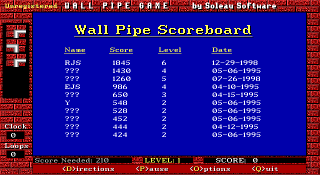 Wall Pipe