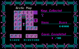 DOS Arctic Adventure Volume