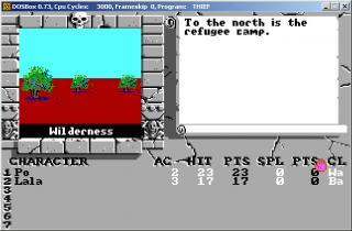 DOS Bards Tale III Thief Of Fate
