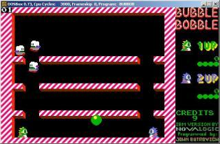 DOS Bubble Bobble