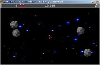 DOS Champ Asteroids