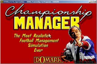 DOS Championship Manager