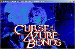 DOS Curse Of The Azure Bonds