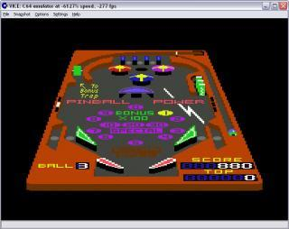 Commodore 64 3D Pinball