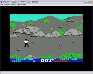 Commodore 64 007 The Living Daylights