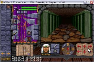 DOS Dungeon Hack