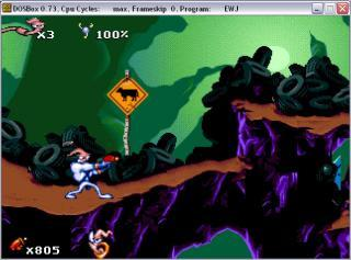 DOS Earthworm Jim
