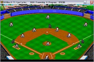 DOS Epic Baseball
