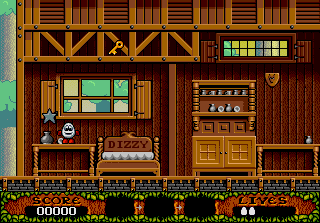 DOS Fantastic Adventures Of Dizzy