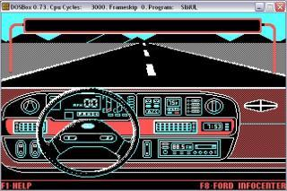 DOS Ford Simulator