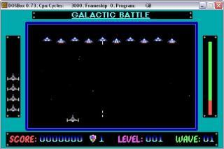 DOS Galactic Battle
