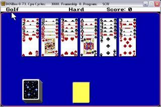 DOS Hoyle Book Of Games Volume 2 Solitaire