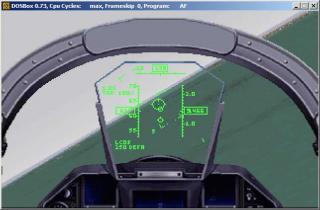 DOS ATF Janes Combat Simulations - Advanced Tactical Fighters