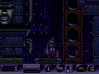 Sega Genesis Batman Returns