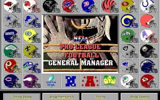 DOS NFL Pro League Football