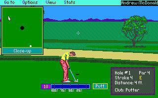 DOS PGA Tour Golf