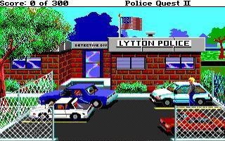 DOS Police Quest II