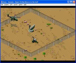 Sega Genesis Desert Strike: Return to the Gulf