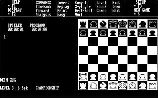 DOS Psion Chess