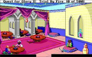 DOS Quest For Glory II: Trial By Fire