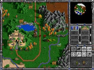 DOS Heroes of Might and Magic II: The Price of Loyalty