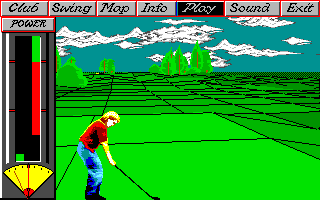 DOS Greg Norman&#39s Shark Attack!: The Ultimate Golf Simulator