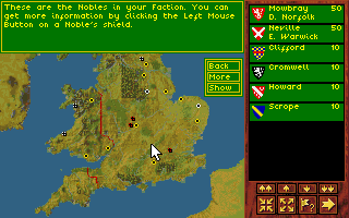 DOS Kingmaker: The Quest for the Crown