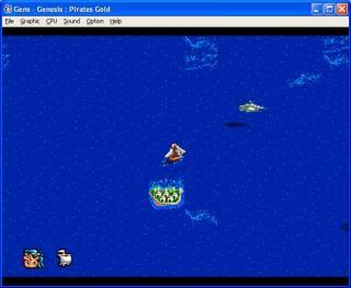 Sega Genesis Pirates Gold