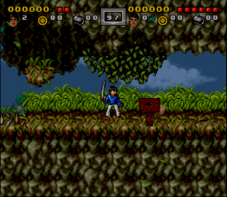 Super Nintendo 3 Ninjas Kick Back