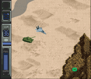Super Nintendo A.S.P. Air Strike Patrol
