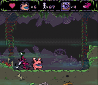 Super Nintendo AAAHH!!! Real Monsters
